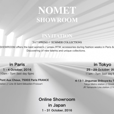 INDYGO JEWELS will be in Tokyo's showroom NOMET